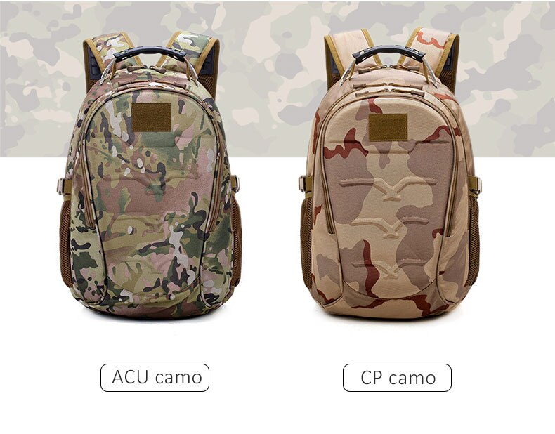 USB Charging Military Style Backpack