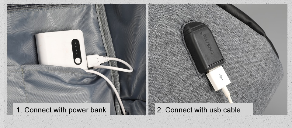 Anti Theft USB Charging Laptop Backpack