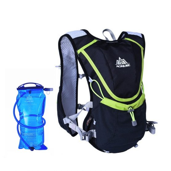 Marathoner Running Race Hydration Vest