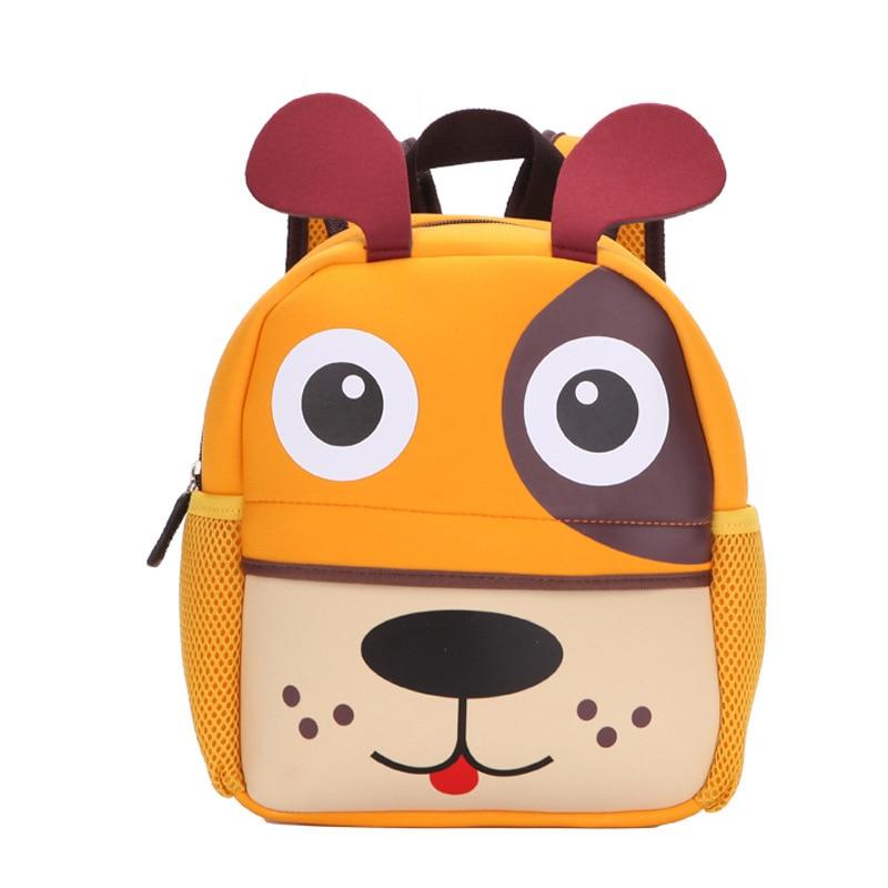 2020 Nieuwe 3D Animal Kinderen Rugzakken Brand Design Meisje Jongens Rugzak Peuter Kids Neopreen Schooltassen Kleuterschool Cartoon Tas