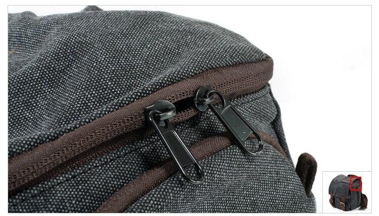M137 Nieuwe Draagbare Vintage Canvas Micro DSLR Camera Schoudertas schouder Tas voor Canon Nikon Sony voor Olympus