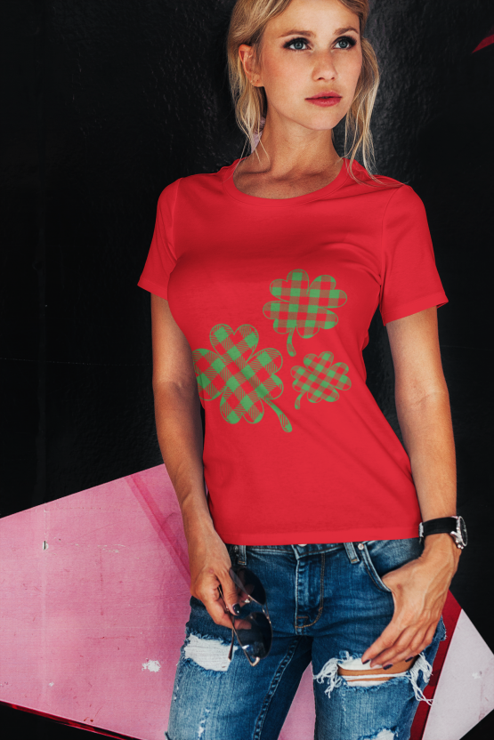 Unisex Heavy Cotton Tee Women's ST. Patrick's Day T-Shirt