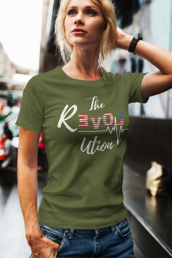 The Revolution Unisex Heavy Cotton Tee