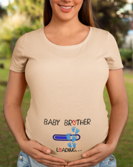 Baby Brother Loading Unisex Jersey Short Sleeve Tee