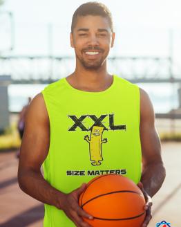 Size Matters Men's Sleeveless Performance Tee