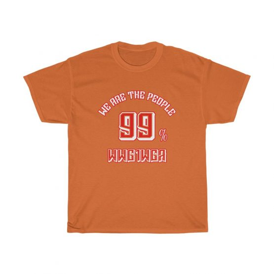 We Are The People 99% Unisex Jersey Short Sleeve Tee