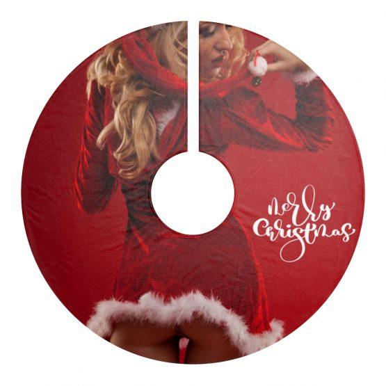 Sexy Santa Christmas Tree Skirts