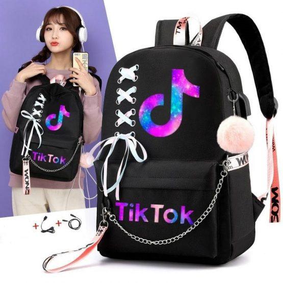 Tik Tok Backpack Boy girl school Bag