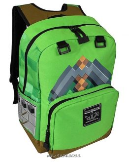 Minecraft New Games Backpack Primary School bag